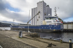 Sistemi MV Eidsvaag Sirius Immagine Stock