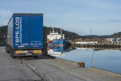 Sistemi MV Wilson Humber Fotografia Stock Libera da Diritti