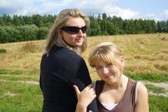 Sister Royalty Free Stock Photo