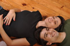 Sister and brother friendship Royalty Free Stock Images