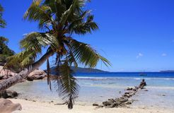 Sister Island, Seychelles Stock Image
