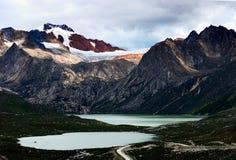 Sister lakes Stock Image