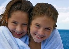 Sister love 1 Royalty Free Stock Photography