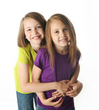 Sister love Stock Image