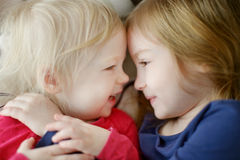 Sister love Royalty Free Stock Photography