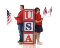 Sister Patriots Royalty Free Stock Image
