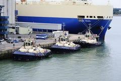 Sister Ship tug boats Royalty Free Stock Images