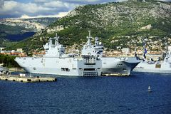 Sister Ships of the French Navy Royalty Free Stock Image