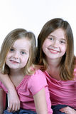 Sister Sister Royalty Free Stock Photos