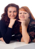 Sisterhood bonito Imagem de Stock