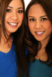 Sisterhood bonito imagens de stock