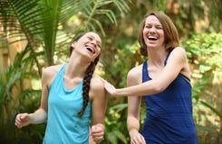 Sisterhood or friendship Stock Images