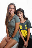 Sisterly love forever Royalty Free Stock Image