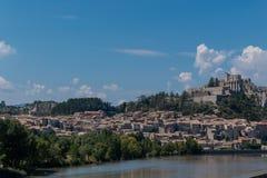 Sisteron коммуна в отделе Alpes-de-Haute-Провансали стоковые изображения