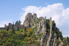 Sisteron Royalty Free Stock Photo