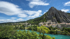 Sisteron Royalty Free Stock Image