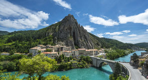 Sisteron Stock Photo