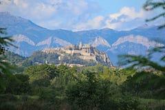 Sisteron Ciradel, Francia foto de archivo libre de regalías