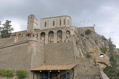 Sisteron Citadel, France Royalty Free Stock Image