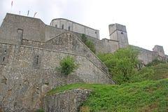 Sisteron Citadel Royalty Free Stock Photos