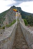 Sisteron citadell, Frankrike royaltyfria bilder