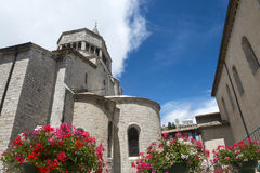 Sisteron, Citadelle and Cathedral Stock Photography