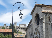 Sisteron, Citadelle and Cathedral Royalty Free Stock Image