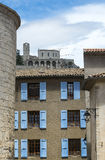 Sisteron, Citadelle and Cathedral Stock Photo