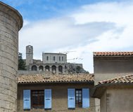 Sisteron, Citadelle and Cathedral Stock Images