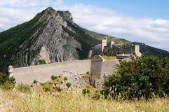 Sisteron Festung, Frankreich Lizenzfreie Stockfotografie