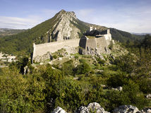 Sisteron: the fortress Stock Photos