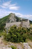 Sisteron fortress, France Royalty Free Stock Photo