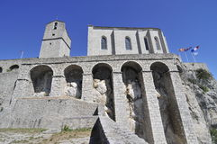 Sisteron fortress Royalty Free Stock Images