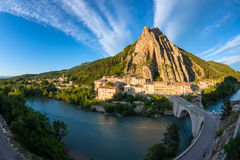 Sisteron France Royalty Free Stock Images