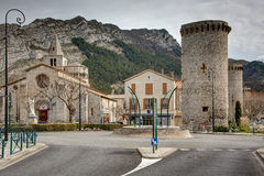 Sisteron - France Royalty Free Stock Images