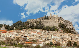 Sisteron - France Royalty Free Stock Photo