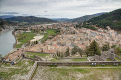 Sisteron - France Stock Photography