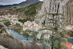 Sisteron - France Stock Photos