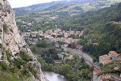 Sisteron, France Royalty Free Stock Photography