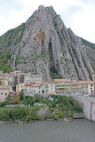 Sisteron, France Stock Images