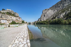 Sisteron ( France ) Royalty Free Stock Image