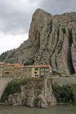 Sisteron, France. Sisteron town in the French Alps Stock Photography