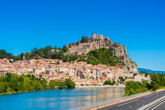 Sisteron France Stock Photo