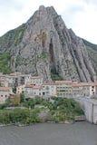 Sisteron, Frankreich stockbilder