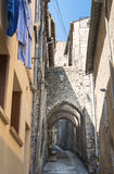 Sisteron (Haute Provence, France) Stock Photo