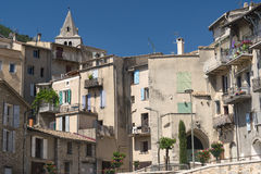 Sisteron (Haute Provence, France) Royalty Free Stock Photos