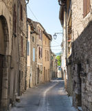 Sisteron (Haute Provence, Francia) Fotografia Stock