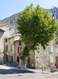 Sisteron (Haute Provence, Francia) Fotografie Stock