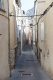 Sisteron (Haute Provence, Frankrijk) Stock Afbeeldingen