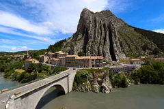 Sisteron Royalty Free Stock Images
